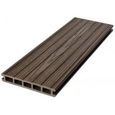 Террасная доска (ДПК) Dortmax Фолк+, коричневый 4 м